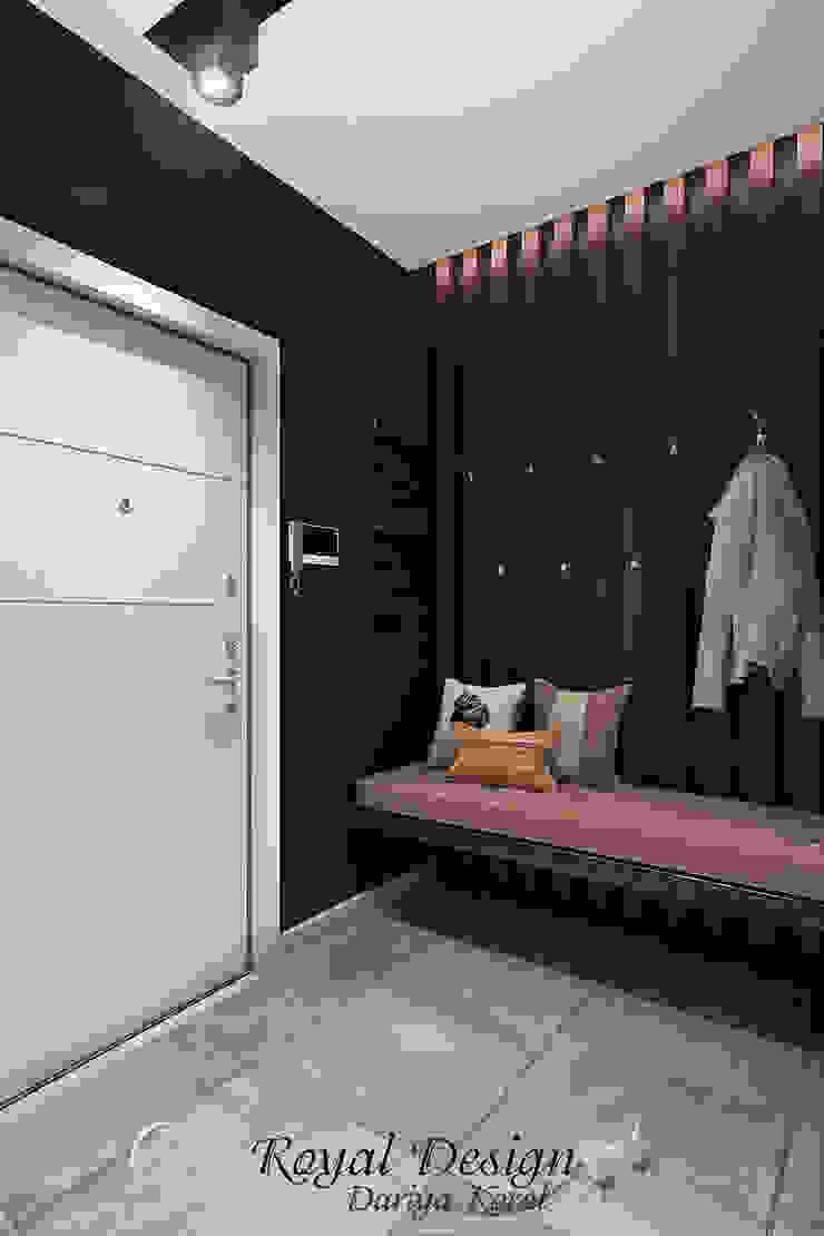 Your royal design Pasillos, vestíbulos y escaleras industriales Negro