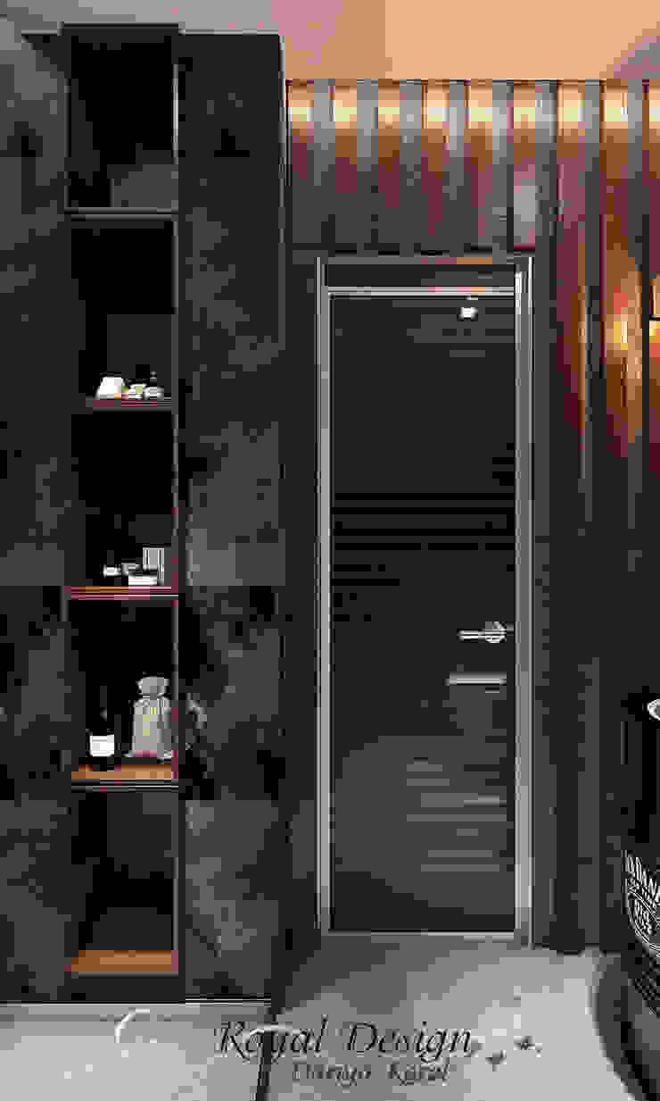 Your royal design Baños de estilo industrial Marrón