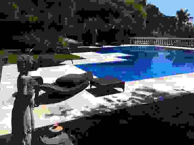 Studio di progettazione Ferrante Pool Reinforced concrete Blue