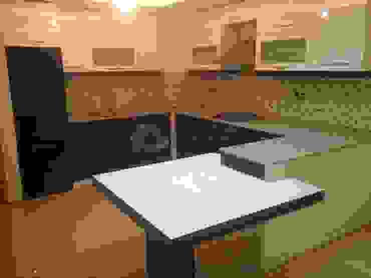Modern kitchen by Lens İnşaat Elektrik Elektronik San.Tic.Ltd.Şti. Modern Wood-Plastic Composite