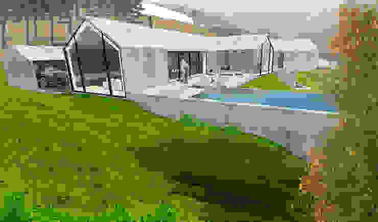 Exterior View por RLA | RICHARD LOUREIRO ARCHITECTS