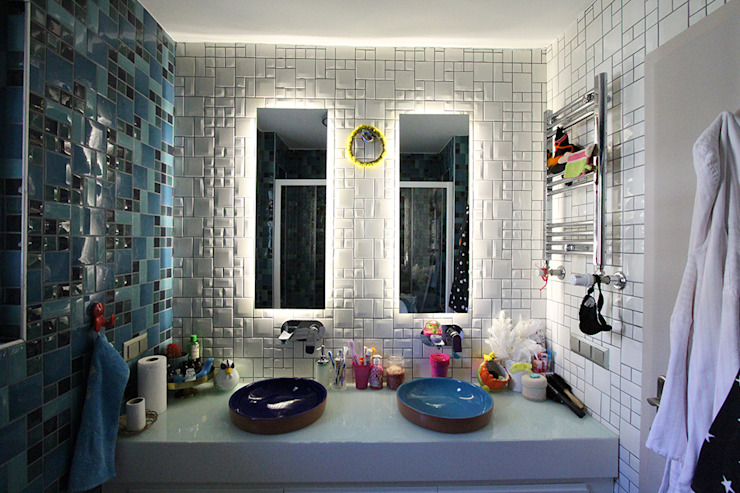 Bathroom by Orkun İndere Interiors, Modern سرامک