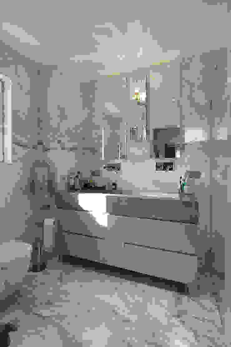 Kış bahçeli ev Klasik Banyo Orkun İndere Interiors Klasik Mermer