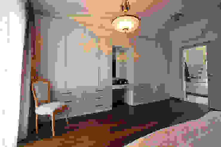Kış bahçeli ev Klasik Yatak Odası Orkun İndere Interiors Klasik Ahşap Ahşap rengi
