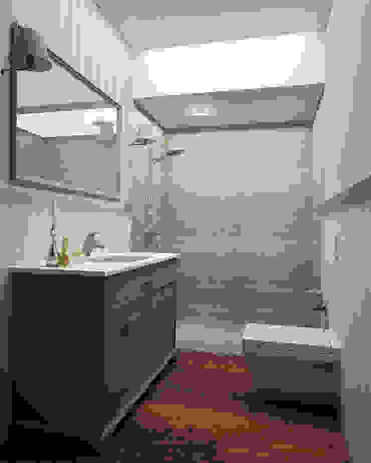 Villa 71 Modern Banyo Çizgi İç Mimarlık Modern