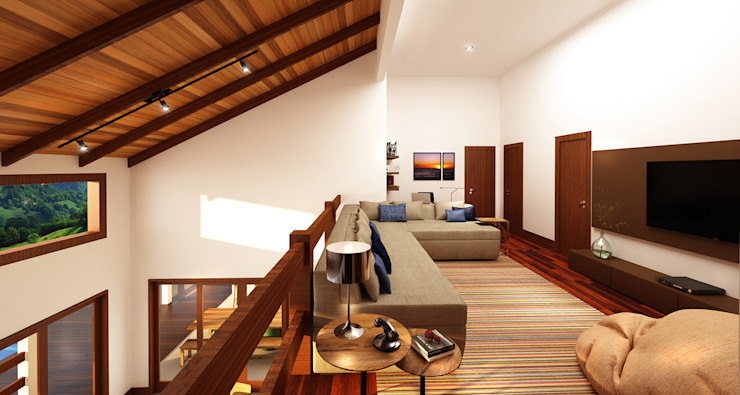 Pintu & Jendela Modern Oleh Ana Carolina Cardoso Arquitetura e Design Modern Kayu Wood effect