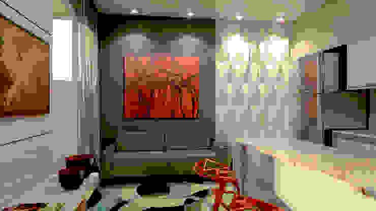 Salas de estilo moderno de P&I Arquitetura Moderno