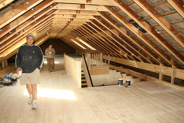 Loft room , staircase and Velux roof windows by Loftspace Classic