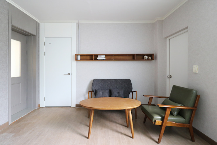 Modern living room by 6point studio Modern