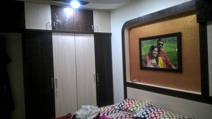 This 1bhk Apartment In Navi Mumbai Does Wonders With 450sqft Homify Homify