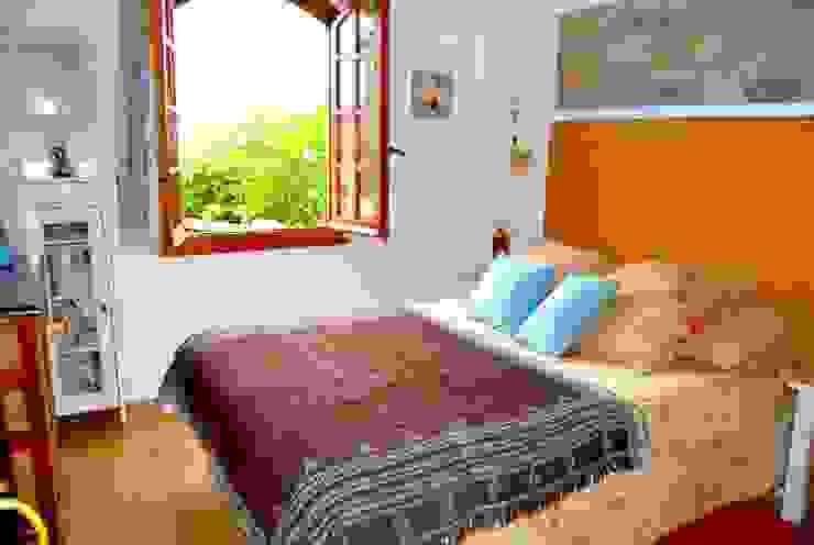 Espai Interior Home Staging Camera da letto eclettica