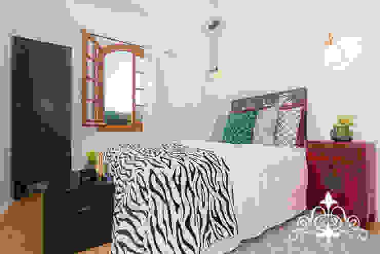 Dormitorio Espai Interior Home Staging Dormitorios de estilo ecléctico