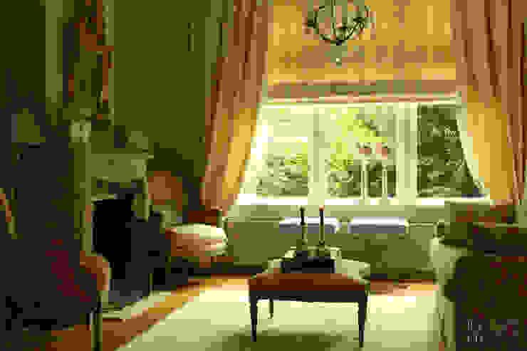Herenhuis jaren '20 Oegstgeest Klassieke woonkamers van Robbert Lagerweij Interior Design Klassiek Zandsteen