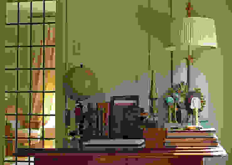 Herenhuis jaren '20 Oegstgeest Klassieke studeerkamer van Robbert Lagerweij Interior Design Klassiek Hout Hout
