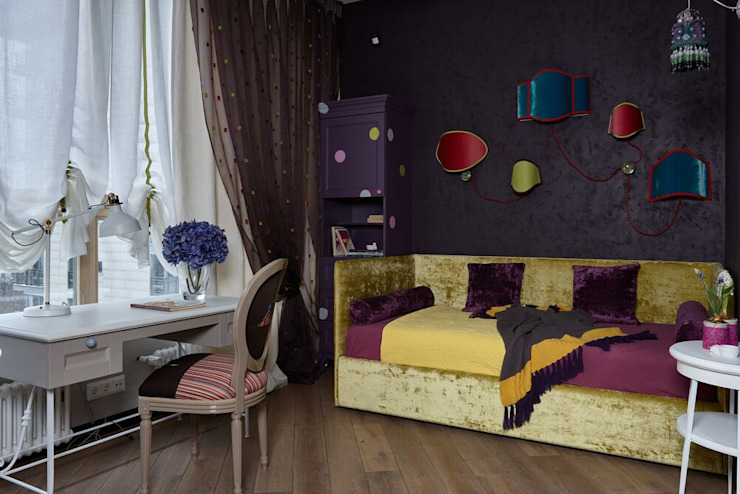 Eclectic style nursery/kids room by Вира-АртСтрой Eclectic