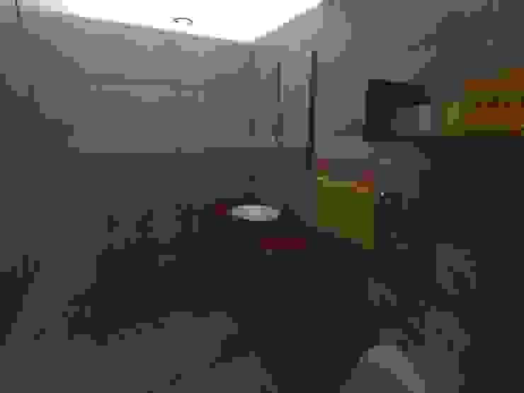 interior baño de Grupo AGI-7 Moderno