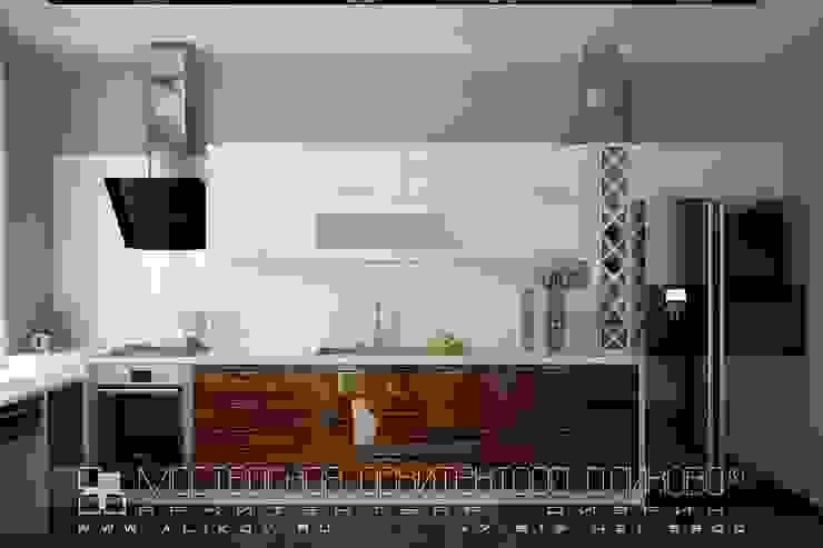 Kitchen by Мастерская архитектора Аликова,