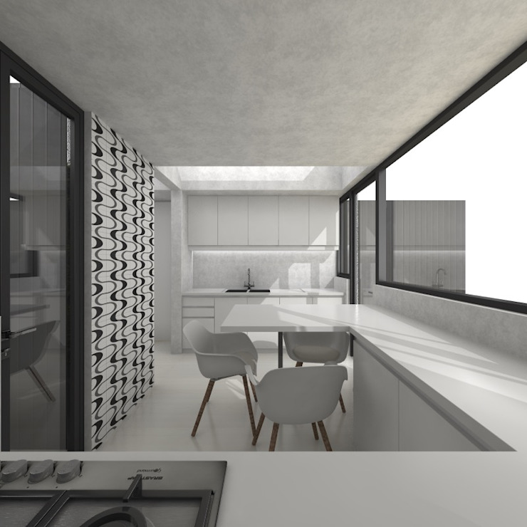 by HVH arquitectura