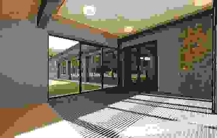 Verbouwing GGz Nijmegen Moderne gangen, hallen & trappenhuizen van MOStudio Modern Steen