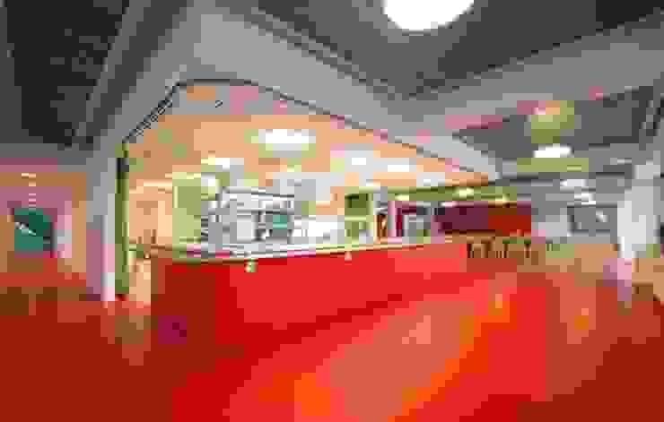 Verbouwing GGz Nijmegen: modern  door MOStudio, Modern Metaal