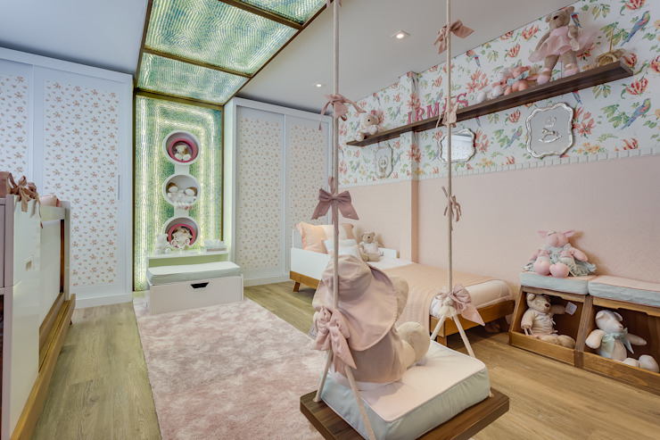 Cuartos infantiles de estilo moderno de Bernacki Arquitetura Moderno