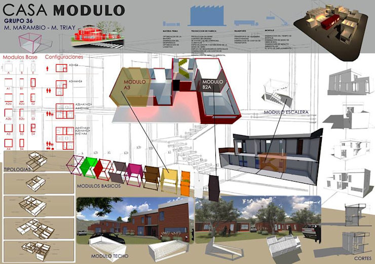 AUREA Estudio de Diseño Industriale Häuser