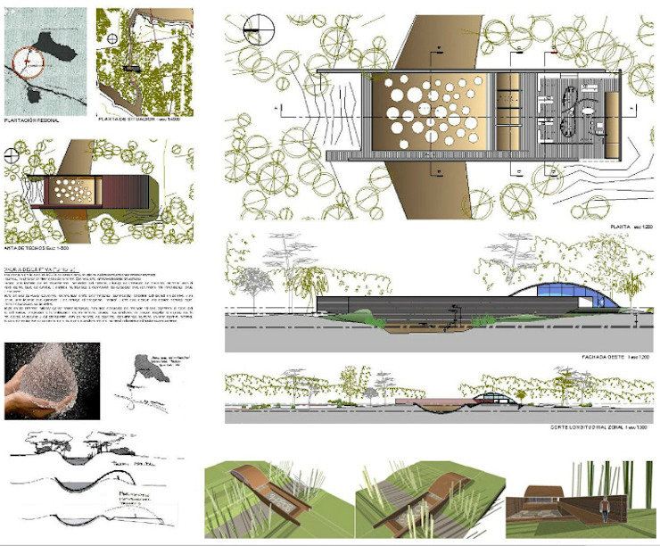 โดย AUREA Estudio de Diseño โมเดิร์น