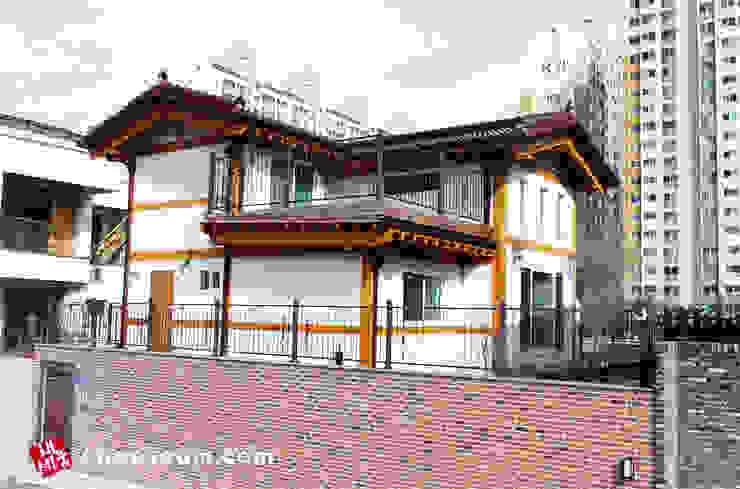 대전 2층 데크쪽을 바라본 사진 by (주)채세움
