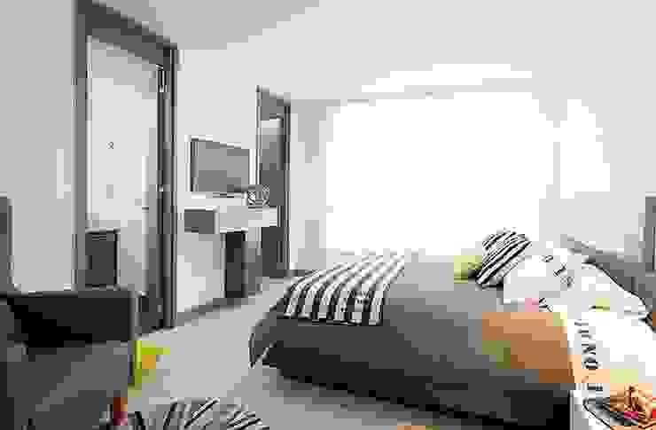 Apto  Felisa: Habitaciones de estilo  por Maria Mentira Studio,