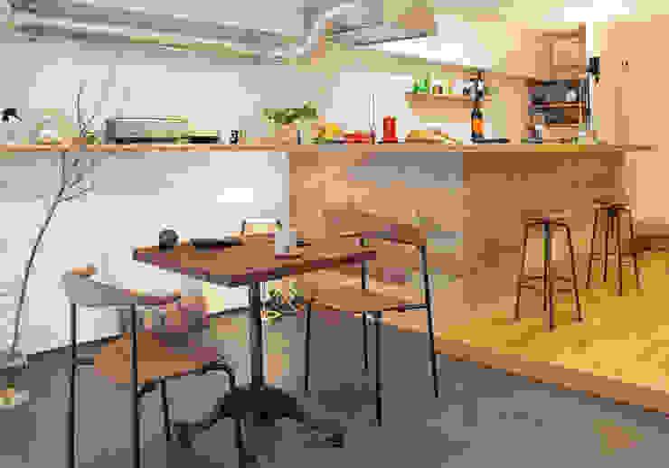 من nano Architects إنتقائي خشب Wood effect