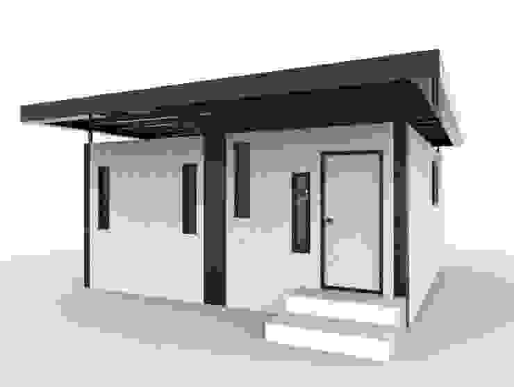 積木屋 現代房屋設計點子、靈感 & 圖片 根據 宜佳營造工程有限公司 現代風 鐵/鋼