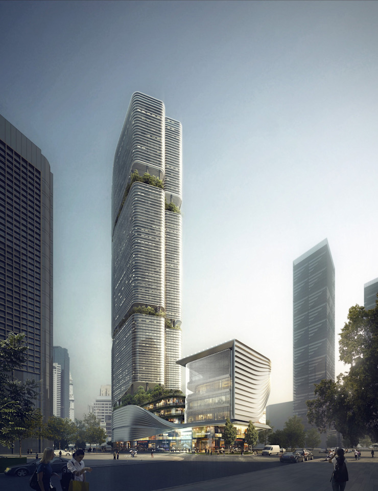 Gmond International Building, Shenzhen, China by Architecture by Aedas