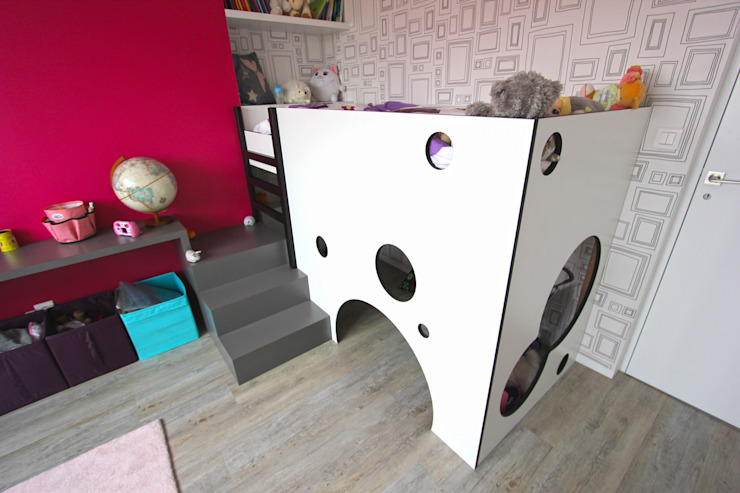 Chambre enfant Chambre d'enfant minimaliste par Atelier OCTA Minimaliste