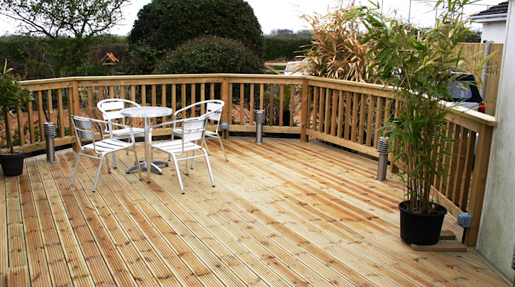 Beautiful Decking by Carpenters Johannesburg