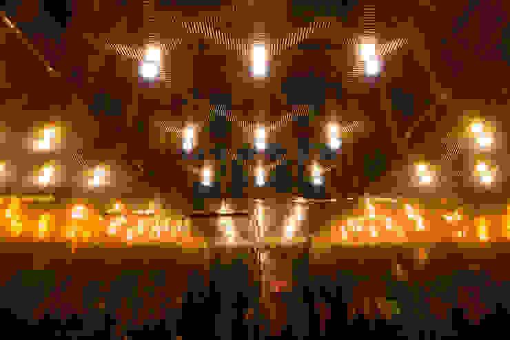 Rufo Iluminación Salas multimedia de estilo minimalista