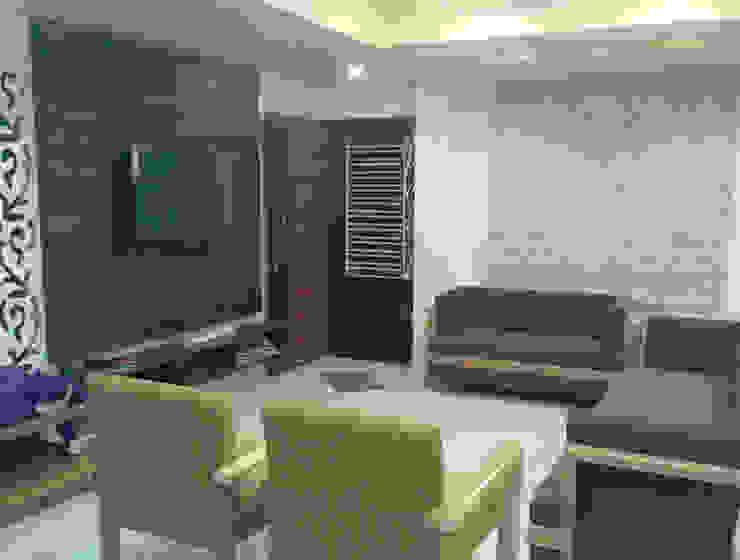 Living room Modern living room by Swastik Modern
