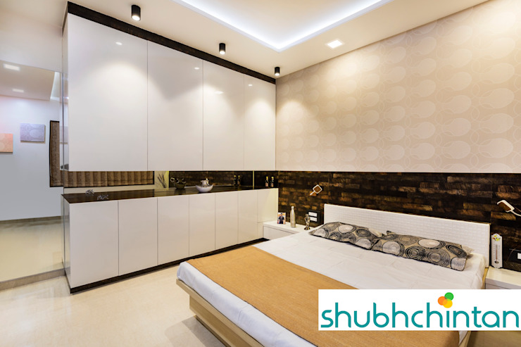 BERD ROOM FOR GUEST Modern style bedroom by homify Modern Plywood
