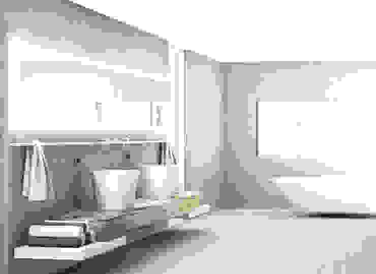 minimalista y rustico Baños de estilo minimalista de NSG interior Design & Projects, reformas y decoración en Mallorca Minimalista