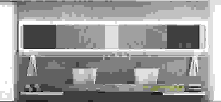 minimalista & rustico NSG interior Design & Projects, reformas y decoración en Mallorca Baños de estilo minimalista