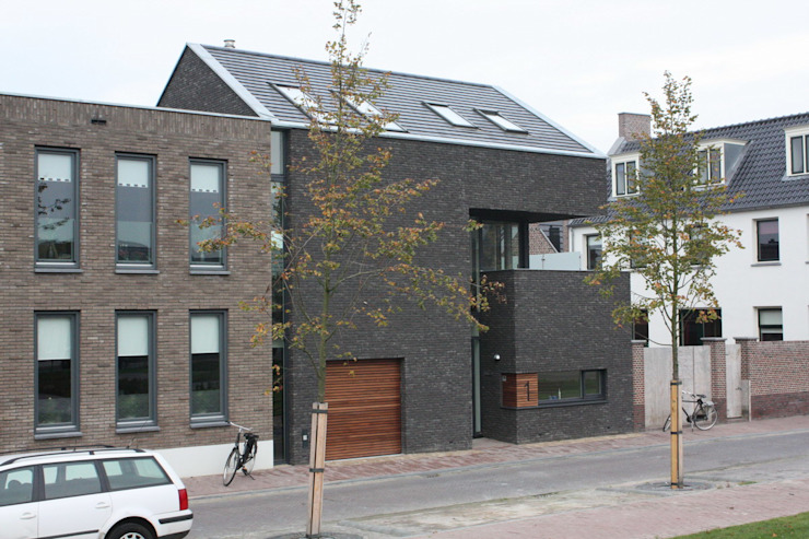Modern Evler Architectenbureau Jules Zwijsen Modern