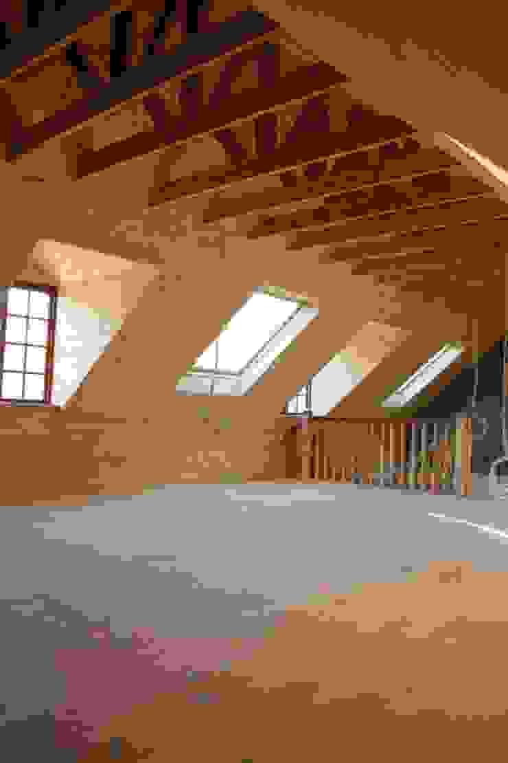 Loft room , staircase and Velux roof windows Minimalist dressing room by Loftspace Minimalist