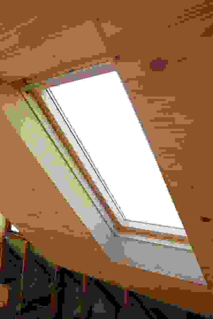 Loft room , staircase and Velux roof windows Minimal style Bathroom by Loftspace Minimalist