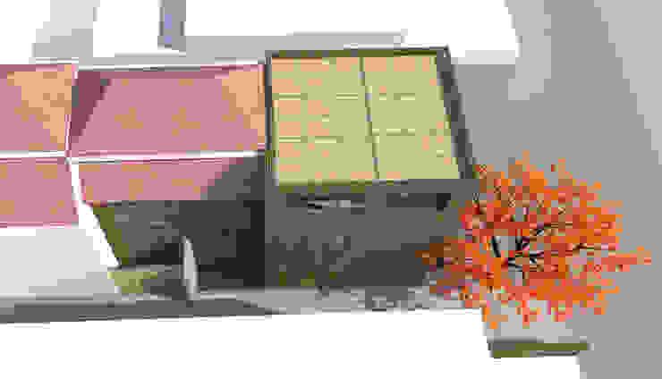 Vista superior proyecto Casas estilo moderno: ideas, arquitectura e imágenes de DIMA Arquitectura y Construcción Moderno
