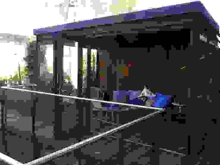 Vincent Athias Architecte DPLG Modern Living Room Wood Grey