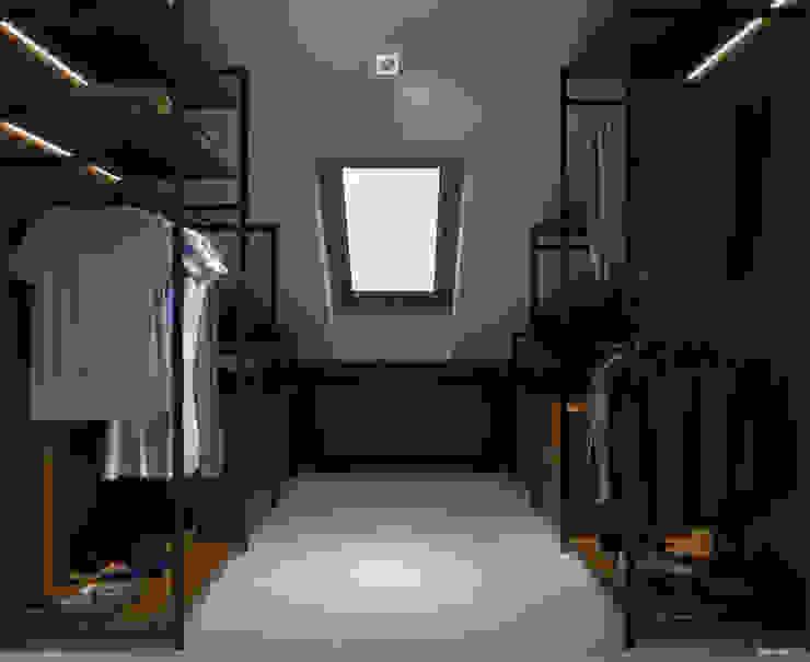 PRØJEKTYW | Architektura Wnętrz & Design Modern dressing room