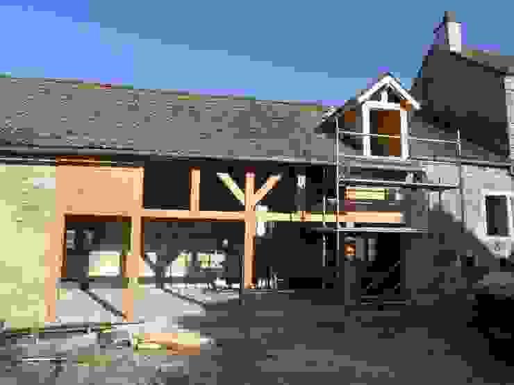 Casas de estilo rural de Vincent Athias Architecte DPLG Rural Madera Acabado en madera