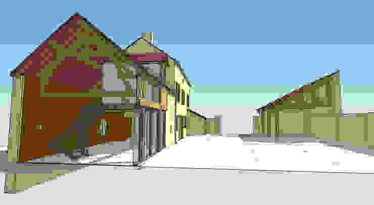 Casas de estilo rural de Vincent Athias Architecte DPLG Rural Piedra