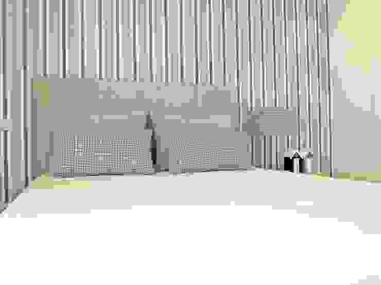 Dormitorios de estilo  de NOZ-MOSCADA INTERIORES,