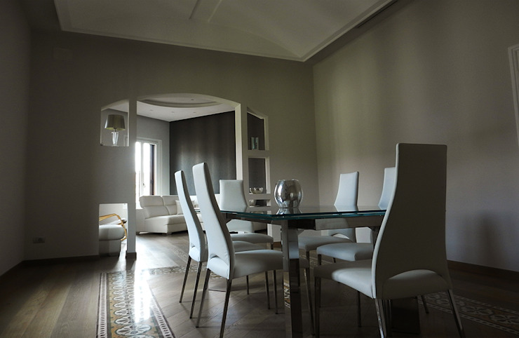 Modern Dining Room by GIOIA Biagio ARCHITETTO Modern