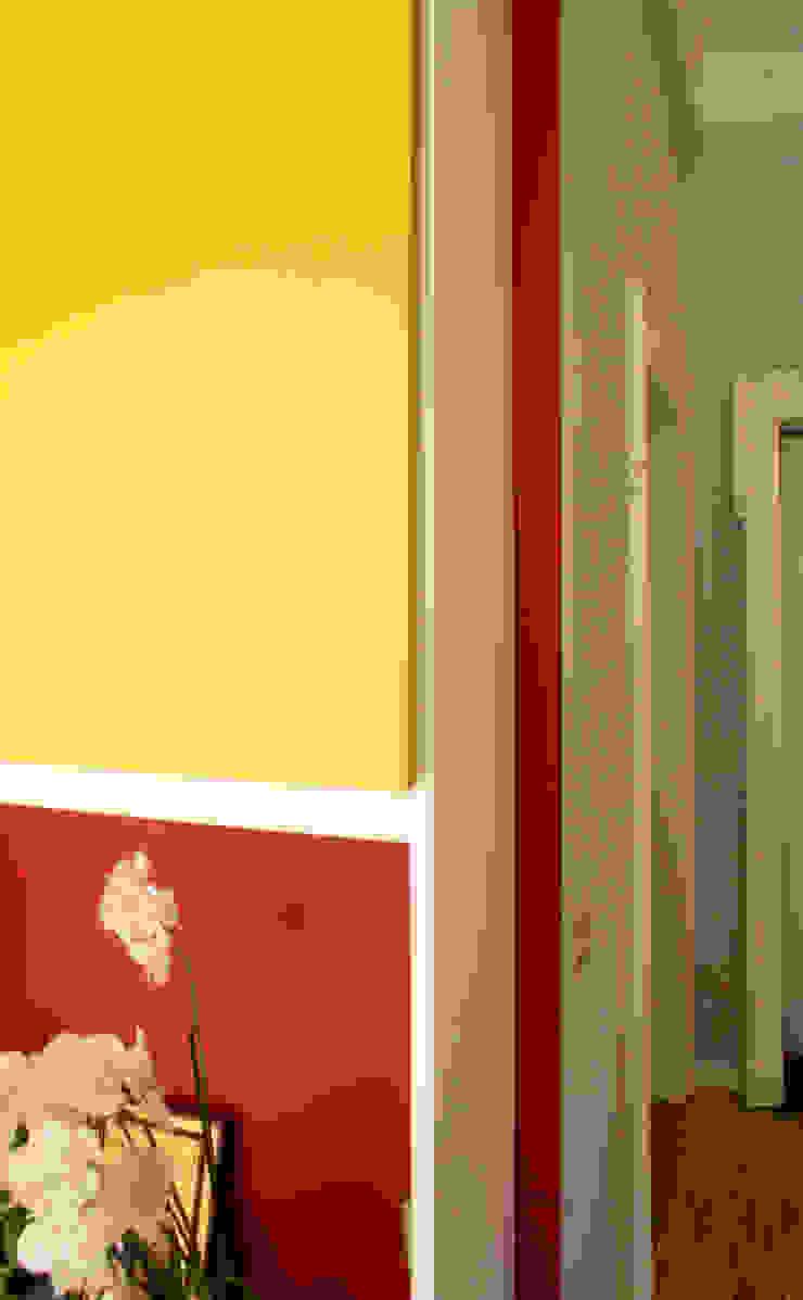 Atelier delle Verdure Eclectic style living room Yellow
